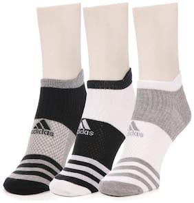 Men Ankle Length Socks 3 Pairs ( Multi )