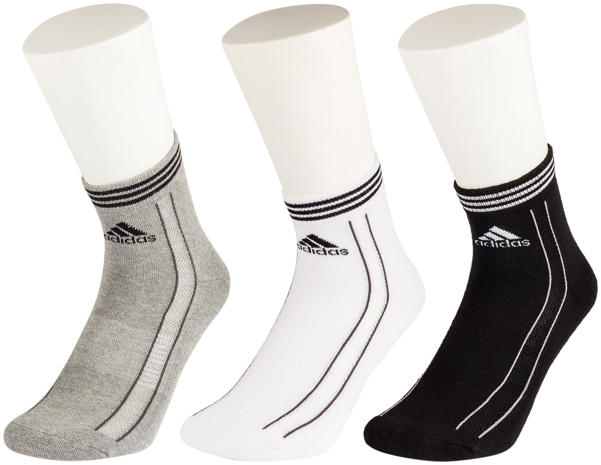 Adidas Multi Wool Ankle length socks   3 pairs