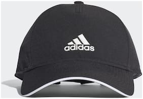 Adidas Polyester Black Cap For Unisex