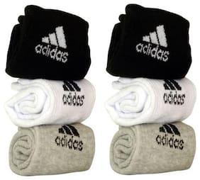 Ankle Length Socks Pack of 6
