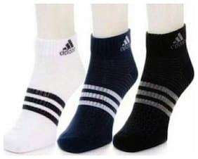 Unisex Calf Length Socks Pack of 3 ( Multi )