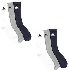 Crew Length Socks Pack of 6
