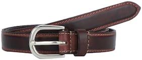 Aditi Wasan Women Leather Belt - Olive