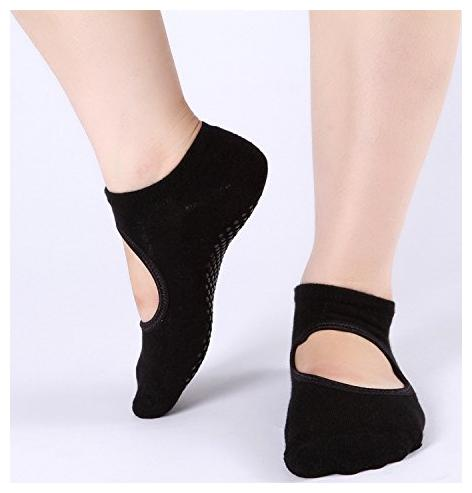 Fashion Women Men/'s Sports Socks Breathable Non Slip Yoga Gym Fitness Anti Skid