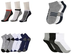 Air Sports Ankle Length Socks ( Pack Of 12 )