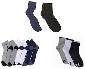 Air Sports  Ankle Length Socks ( Pack Of 9 )