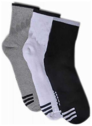 Air Sports Designer Ankle Length Socks ( Pack Of 3 )