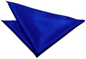 Air Sports Satin Pocket Square - Blue