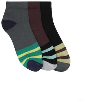 Air Sports Men Ankle Length Socks (Pack of 3)