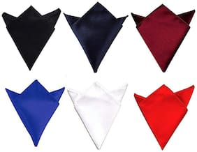 Air Sports Satin Pocket Square - Multi