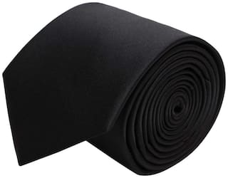 Air Sports Tie For Men Casual & Formal Black