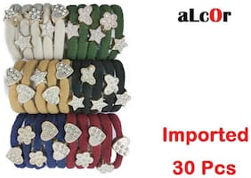 aLcOr Hair Ribbon With Stone Fancy and Attractive Best Quality