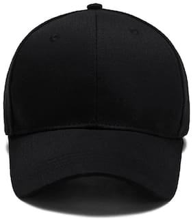 Alcove Unisex Black Baseball Cap