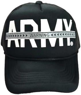 Alcove Unisex Army Printed HalfNet Baseball Cap