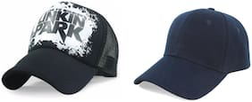 Alcove Men And Boys Pack Of 2 Halfnet Baseball Sports Cap