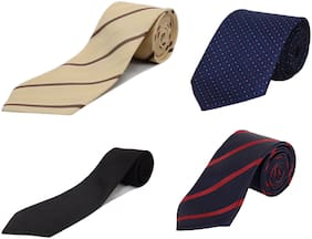 Alcove Men's Pack of 4 Formal Tie