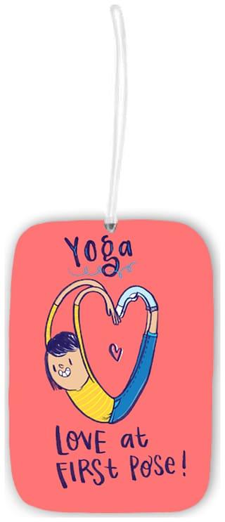 Alicia Souza Yoga Luggage Tag