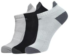 Allen Cooper Multi Cotton Ankle length socks ( Pack of 3 )