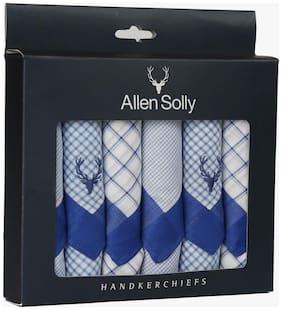 Allen Solly Men's Cotton  Handkerchief Pack of 6