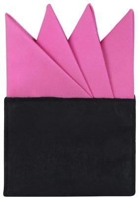 Alvaro Castagnino Micro fiber Pocket Square - Pink