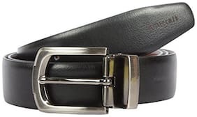 Amicraft Brown And Black 100% Pure Genuine Leather Men'S Premium Belt (Reversible)