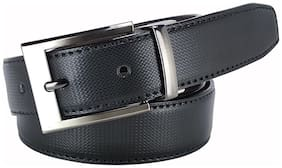 Amicraft Casual & Formal Artificial Leather Men's Reversible Belt Black/Brown Size 28-44 Cut to fit men's belt