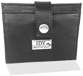Anglopanglo Black Color Men's PU leather Wallet