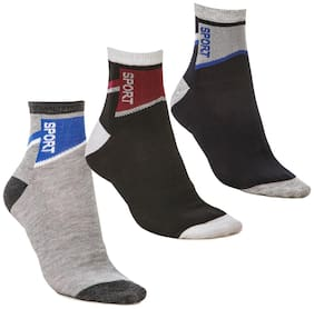 Anixa Collection Ankle Socks Pack Of 3