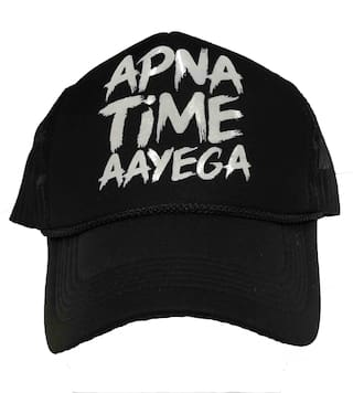 149568b1ab3 Buy Apna Time aayenga netted baseball cap Online at Low Prices in ...
