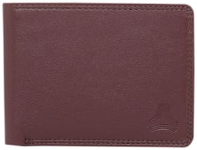 ARADO Men Brown Leather Bi-Fold Wallet ( Pack of 1 )