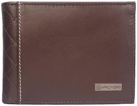 ARCADIO - DIAMOND DESIRE Bifold Diamond Stich Leather Wallet