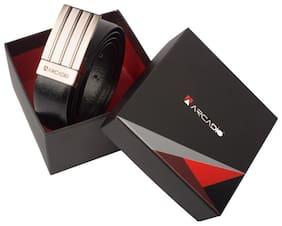 ARCADIO TEXTURE THRILL - Textured Leather Belt - ARB1008RV