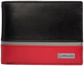 ARCADIO TRIPLE TREAT Bifold Triple Toned Leather Wallet - ARW1008MT