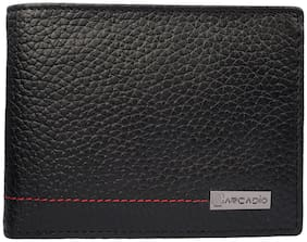 ARCADIO - TWICE-AS-NICE Bifold Dual Toned Leather Wallet