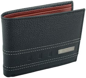 ARCADIO - TWOGETHER Bifold Dual Toned Leather Wallet