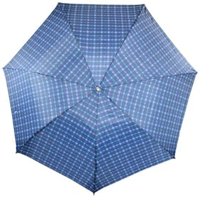 Arip Grey Check Print 3 Fold Umbrella (Pack of 1)