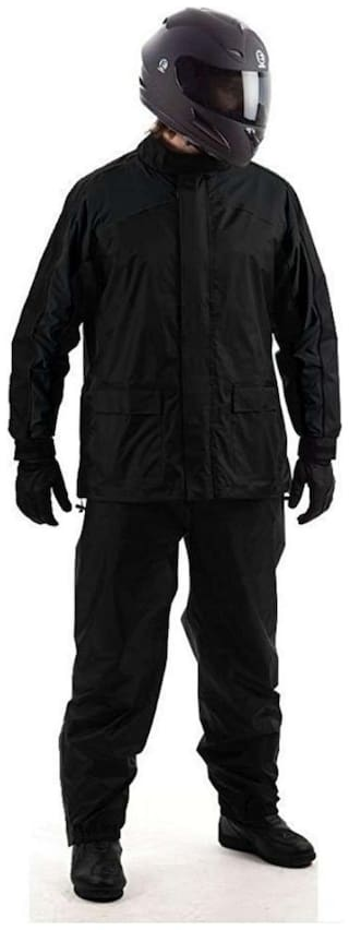 Aristocrat Sepia Polyester Complete Raincoat With Pent And Carry Bag