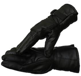 Air Sports Unisex Faux fur Glove - Black