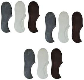 Ashirwad Men & Women Solid Low Cut Socks  (Pack of 9)