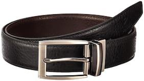 ASIAN SWAN Men Black Pu Belt (Size: 38 , Pack of 1 )