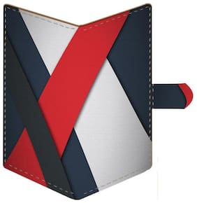 Aurra Unisex Leather Card holder - Multi