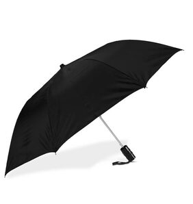 Auto Open 2 Fold Office Umbrella Black