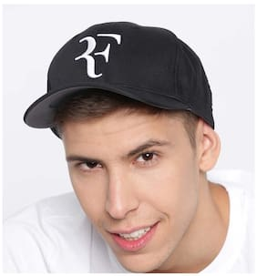 bc11d67be44 Babji Embroidered RF Stylish Cool Black Baseball Cap