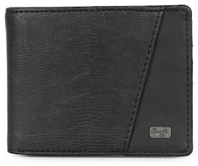 Baggit Men Black Synthetic leather Bi-Fold Wallet ( Pack of 1 )