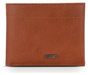 Baggit Men Orange Synthetic leather Bi-Fold Wallet ( Pack of 1 )