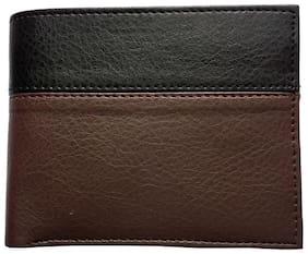 Benicia Men Black Pu Bi-Fold Wallet ( Pack of 1 )