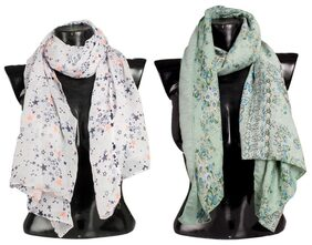 Bfly Women Blended Stoles - Multi
