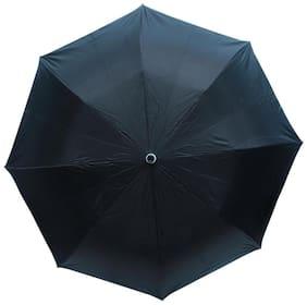 Bizarro Black 3 Fold Umbrella (Pack of 1)