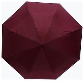 Bizarro Maroon 3 Fold Umbrella (Pack of 1)