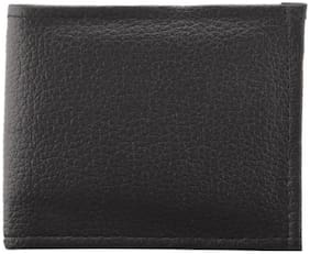 Quaffor Men Black Pu Bi-Fold Wallet ( Pack of 1 )
